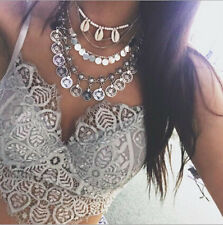 Jewelry  Choker  Statement  NEW vintage  Necklace Chunky  Bib  Chain Pendant