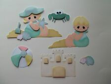 3D - U Pick - Summer Beach Baby Scrapbook Card Embellishment 84