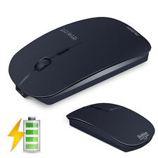 Boblen T8 Rechargeable 2.4GHz Wireless USB Optical Silent PC Mini Mouse New 2016
