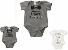 Newborn Baby Bodysuit  Clothes  Jumpsuit  Romper  Kids  Boys Girls  Outfit