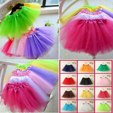 Ladies Girls Tutu Skirt Fancy Skirts Dress Up Hen Party 3 Layers High Quality