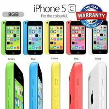 Apple iPhone 5c 8GB Factory Unlocked Sim Free Smartphone - Various Colours UK