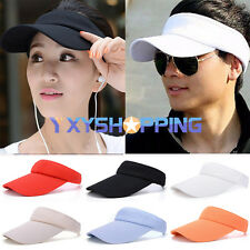 Hot Men Women Sun Visor Cap Adjustable Sport Tennis Golf Headband Hat Adjustable