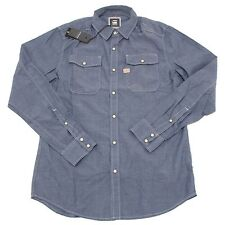 2271P camicia jeans chambray G-STAR RAW LUX WESTERN uomo shirt men