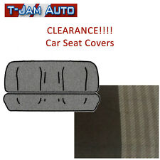 Car Bench Seat Covers Universal Front Rear Brazil Brown New