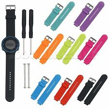 Replace Silicone Watch Band Strap For Garmin Forerunner 220 230 235 630 620 735