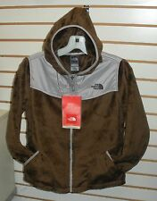 THE NORTH FACE GIRLS OSO HOODIE FLEECE JACKET-# APZE -  XL- BURROW BROWN-NEW