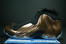 AIR NIKE FLIGHTPOSITE COPPER SZ 9 GOLD EGGPLANT CARBON CLOGPOSITE FOAMPOSITE