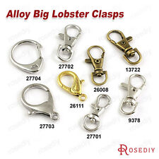 Alloy Big Lobster Claw Clasps Key Chain Clasps Jewelry Findings Accessories 9378