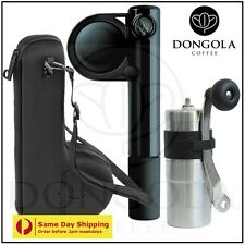 HANDPRESSO WILD Portable Espresso Machine + CARRY CASE + PORLEX MINI Grinder