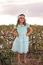 Girl tulle dress Ice blue lace dress Toddler girl Summer dress Girl Spring Dress
