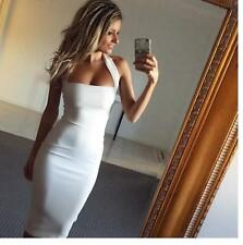 Backless Halter Womens Sexy Bodycon Pencil Dress Clubwear Cocktail Summer Beach