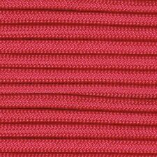 550 Paracord Hot Pink Type III Paracord 10' 20' 50' 100' Hanks & 100' Spools