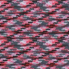 550 Paracord Pink Camo Type III Paracord 10' 20' 50' 100' Hanks & 100' Spools