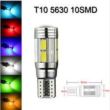 T10 194 W5W 5630 LED 10 SMD CANBUS ERROR Car Side Wedge Light Bulb Lamp Hot