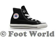 Infants Converse Chuck Taylor  CT All Star Hi - 7J231 - Black White Trainers