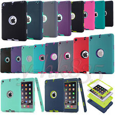 Military Shockproof Protective Case Heavy Duty Cover for iPad 4 3 2 Mini&Air&Pro