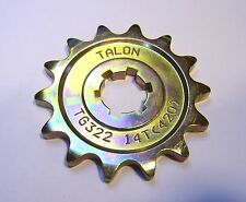 Talon Front Sprocket Kawasaki KX60 65 85 80 100, 13 14 Tooth. Quick Dispatch Sam