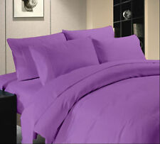 800TC Luxurious Hotel Brand Purple Bedding Set 100% Egyptian Cotton In All Size*