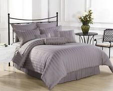 800TC Luxurious Hotel Brand Silver Grey Bedding Set Egyptian Cotton In All Size*