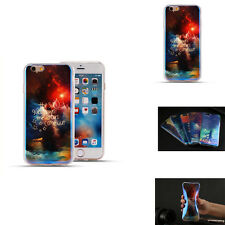 New Blue Light TPU Dustproof Soft Life Phone Case Cover For iPhone 5/5s