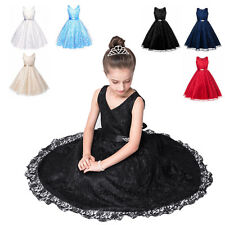 Baby Flower Girls Birthday Wedding Bridesmaid Pageant Graduation Formal Dress