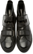 RAF SIMONS Classic Velcro Strap Sneakers (Black, Sizes: 43 & 45, Brand New)