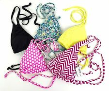 Five Assorted String Bikini Swim Bras Bathing Suit Top Size XS Choose Assortment