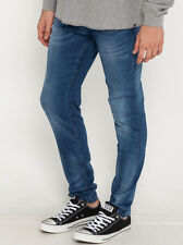 New Lucid Scale Blue Slim Jeans in Blue   Mens Mens Jeans