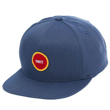 Obey Circle Patch Snapback Cap
