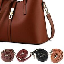 DIY Replacement PU Leather Bag Shoulder Strap Handle Cross Body Adjustable 120cm