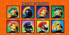 Motorcycle Bike Helmet Mohawk for Racing Motorcycle MX Helmets - 10 Colors!