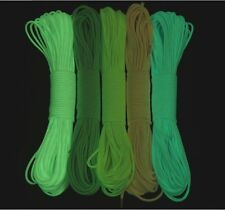 7 Strand 550 Luminous Glow in the Dark Paracord Parachute Cord-25FT 50FT 100FT