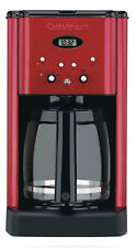 Cuisinart DCC-1200MR Brew Central Programmable Coffeemaker, Red/Black, 12-Cup