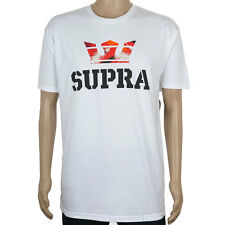 SP Supra Above T-Shirt White Red Feathers skate