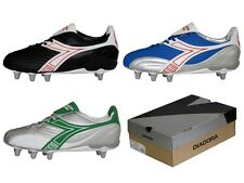 NEW IN BOX FOOTBALL BOOTS RUGBY SHOES AMERICAN FOOTBALL DIADORA BLACK BLUE GREEN