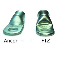 1/0 AWG Premium Tinned Battery Cable Lugs by FTZ - 25 Count