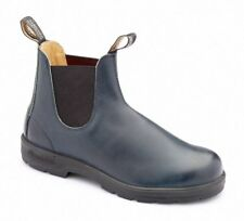 Blundstone Urban 1430 Leather Lined Rubbed Blue Leather Boots