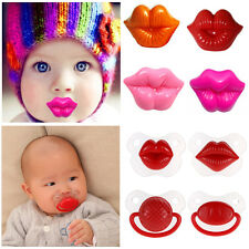 New Baby Silicone Nipple Dummy Cute Soother Toddler Orthodontic Pacifier Teether