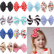 1 Pc Cute Bow Butterfly Hair Clip Polka Dot Head Hair Acessories For Girls