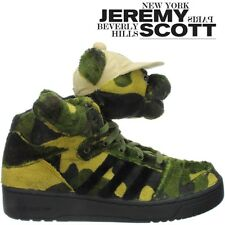 Adidas JS Camo Bear unisex shoes green/camo crazy sneakers by Jeremy Scott NEW