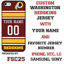 New Custom WASHINGTON REDSKINS phone Case Cover for iPhone 6 6 PLUS 5 5s 5c 4 4s