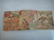 Shunga ancient Painting Erotic lust Exquisite janpan art old book craftwork