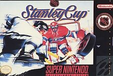 NHL Stanley Cup - Super Nintendo SNES Game Only