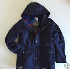 NWT $99 Patagonia Infurno Insulated Jacket Boys' Classic navy Hoodie Full Zip