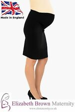 Maternity Pencil Skirt, Over Bump Vent 10-12 14-16 18-20 22-24 26-28 Work Office