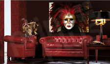 Venetian Mask Wall Decor Canvas Art Poster Print