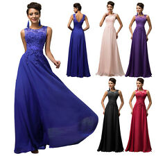 New Bridesmaid Dress Formal Evening Party Long Wedding Bridal Prom Gown Pageant