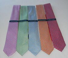 FISHING Tommy Hilfiger 100% SILK Neck Tie FISH Scuba Diving Snorkel NWT FISHES