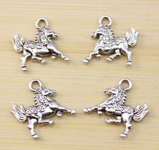 30/60/100 PCS wholesale:Very cute Horse  Tibet silver Charm pendant